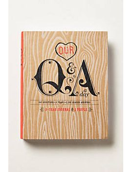 q&a-a-day by anthropologie
