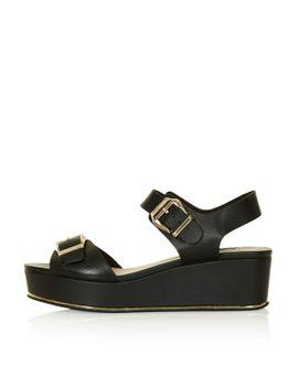 wolf-flatform-sandals by topshop