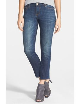 reese-stretch-straight-leg-ankle-jeans by kut-from-the-kloth
