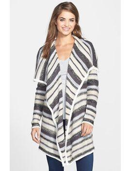stripe-knit-cardigan by kensie