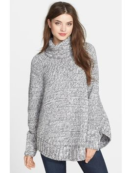 turtleneck-poncho-sweater by michael-michael-kors