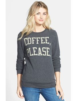 yummy-graphic-print-fleece-pullover by signorelli