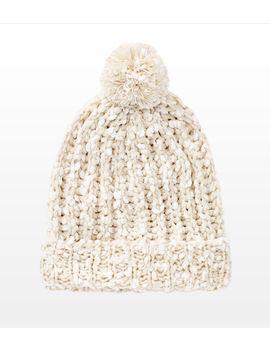 slouchy-pompom-hat by garage