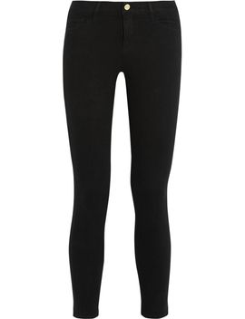le-color-cropped-mid-rise-skinny-jeans by frame