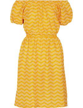 +-pink-chicken-printed-cotton-poplin-dress by finds