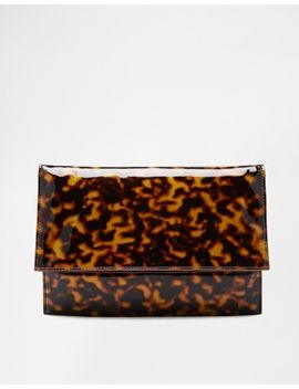 asos-tortoiseshell-clutch-bag by asos-collection