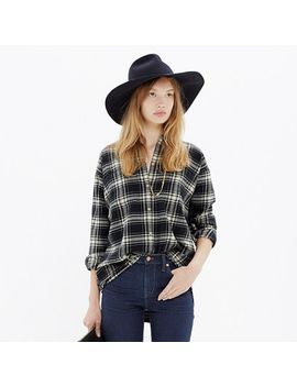 flannel-trapeze-shirt-in-overcast-plaid by madewell
