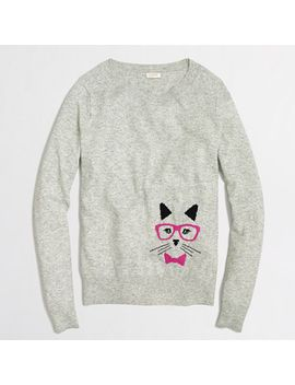 factory-intarsia-cat-sweater by jcrew
