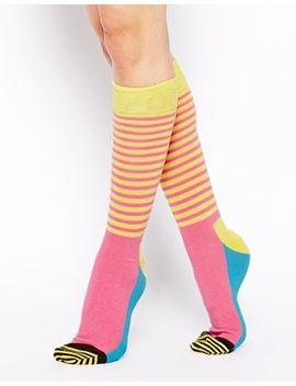 happy-socks-half-stripe-socks by happy-socks