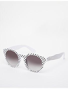 river-island-pin-spot-alexa-round-sunglasses by river-island