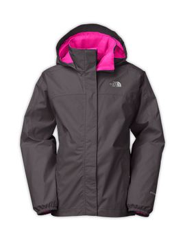 girls'-resolve-reflective-jacket by the-north-face