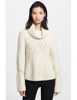 cece-funnel-neck-chunky-knit-sweater by rag-&-bone