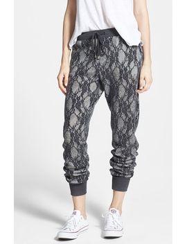 joa-lace-jogger-pants by joa