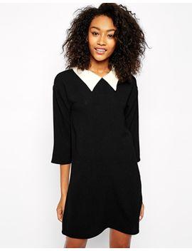 vero-moda-collared-shift-dress by vero-moda