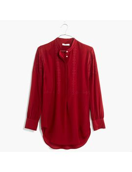 embroidered-ballad-tunic by madewell