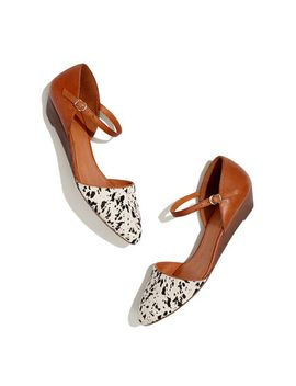 the-duet-mini-wedge-in-speckled-calf-hair by madewell