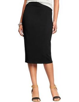 womens-jersey-pencil-skirts by old-navy