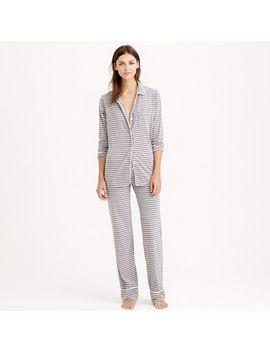 dreamy-cotton-pajama-set-in-stripe by jcrew