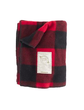 woolrich-john-rich-&-bros®-buffalo-check-blanket by woolrich-john-rich-&-bros