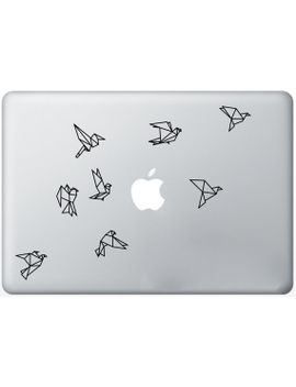 flock-of-flying-origami-birds-decal-for-ipad,-macbook-or-imac by zestygraphics