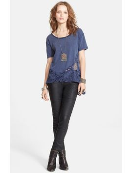 the-stone-lace-detail-tee by free-people