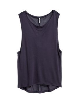 sleeveless-top by h&m