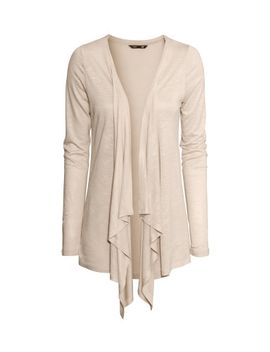 jersey-cardigan by h&m