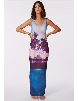 fayna-palm-tree-print-maxi-dress by missguided