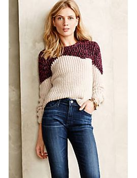 marled-hills-sweater by anthropologie
