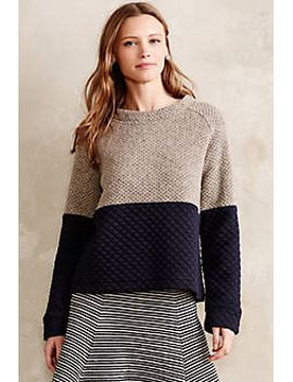 quiltcraft-pullover by anthropologie