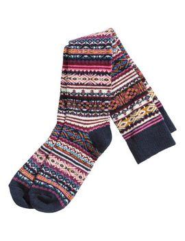 wool-blend-knee-socks by h&m