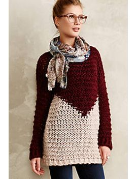 apex-colorblock-pullover by anthropologie