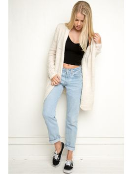 agnete-knit-cardigan by brandy-melville