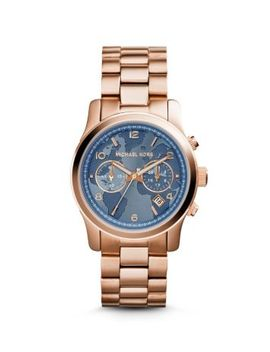 watch-hunger-stop-runway-rose-gold-tone-watch by michael-kors