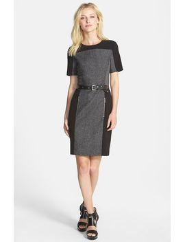 wickham-belted-colorblock-sheath-dress by michael-michael-kors