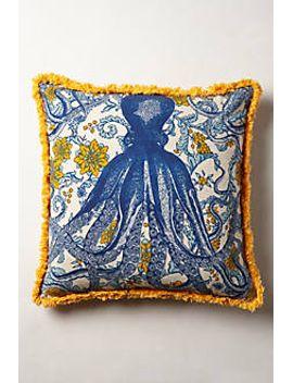 octopus-garden-pillow by thomas-paul