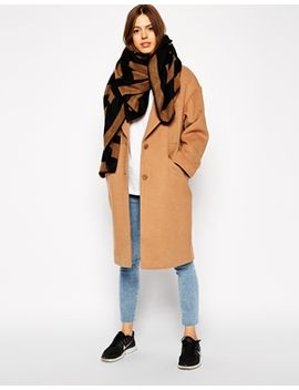 asos-oversized-square-scarf-in-geo-print by asos-collection