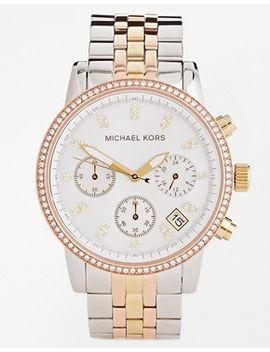michael-kors-ritz-two-tone-watch-mk5650 by michael-kors