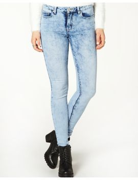acid-wash-skinny-jeans by glassons