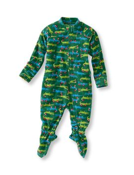infants-and-toddlers-featherweight-fleece-pajamas by llbean