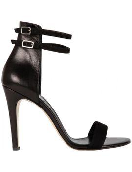 sandal-pump-egowar-zwart-suede by lenfant-terrible