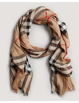 burberry-giant-check-gauze-scarf by bloomingdales