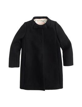 girls-wool-melton-bow-coat by jcrew