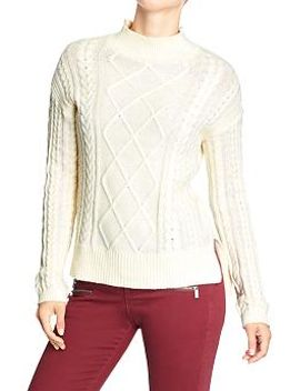 womens-cable-knit-sweaters by old-navy