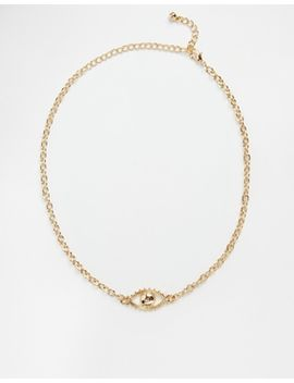 asos-90s-eye-symbol-choker-necklace by asos-collection