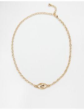 asos-90s-eye-symbol-choker-necklace by asos-collection