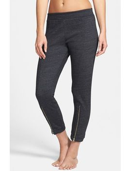zip-leg-crop-pants by solow