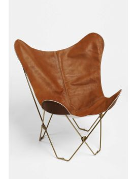 leather-butterfly-chair-cover by urban-outfitters