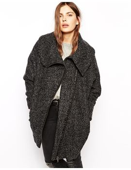 just-female-textured-coat-with-oversized-collar by just-female