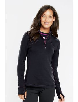 womens-powerstretch-half-zip-pullover by lands-end